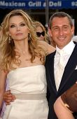 Michelle Pfeiffer and Adam Shankman at the Los Angeles premiere of