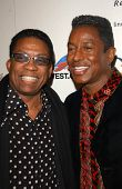 Herbie Hancock and Jermaine Jackson at Ebony's Pre-Oscar Celebration