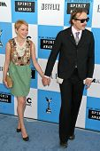 Michelle Williams and Heath Ledger at the 2007 Film Independent's Spirit Awards. Santa Monica Pier, Santa Monica, CA. 02-24-07