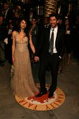 Shiva Rose and Dylan McDermott at the 2007 Vanity Fair Oscar Party. Mortons, West Hollywood, CA. 02-25-07