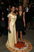 Lucy Liu and Natalie Portman at the 2007 Vanity Fair Oscar Party. Mortons, West Hollywood, CA. 02-25-07