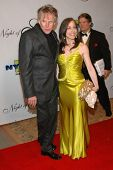 Gary Busey and Vicki Roberts at the 17th Annual Night of 100 Stars Gala. Beverly Hills Hotel, Beverl