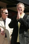 Robby Krieger and Ray Manzarek at the Ceremony Honoring the Band