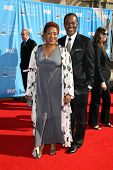 CCH Pounder and husband Boubacar at the 38th Annual NAACP Image Awards. Shrine Auditorium, Los Angel