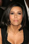Eva Longoria at day one of the 2007 Mercedes-Benz Fashion Week Fall Collection. Smashbox Studios, Cu