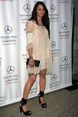 Persia White at day one of the 2007 Mercedes-Benz Fashion Week Fall Collection. Smashbox Studios, Culver City, CA. 03-18-07