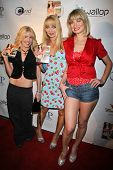 Riley Weston with Lorielle New and Rena Riffel at the DVD Release Party for