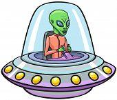 Постер, плакат: UFO