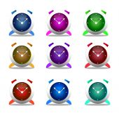 Set of clocks