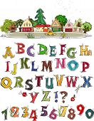 Alphabet HAPPY WORLD COLLECTION