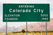 Colorado City City Limits signo