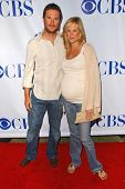 Oliver Hudson and Erinn Bartlett at the TCA 2007 CBS Summer Press Tour. Beverly Hilton Hotel, Beverl