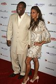 Rodney Peete and Holly Robinson Peete at the DESIGNCARE 2007 Fundraiser to benefit those battling de