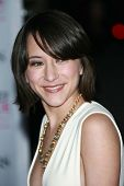 Zelda Williams arriving at The 33rd Annual People's Choice Awards. Shrine Auditorium, Los Angeles, C