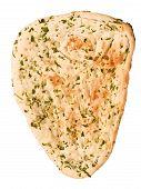 Indian Garlic And Parsley Naan Bread
