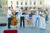 Chamber Music Ensemble In The Street