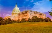 image of capitol building  - Capitol building in Washington DC - JPG