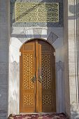 Historical Ottoman Handmade Door Sample