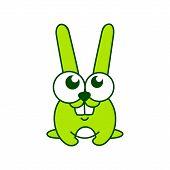 Green Rabbit Sign