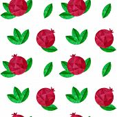 Pomegranates Seamless Pattern