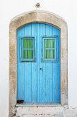 Old door island of Kythira, Greece, Europe