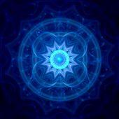 Xmas Ice Mandala