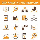 data analytic icons