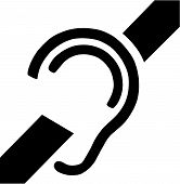 Deafness Access Symbol