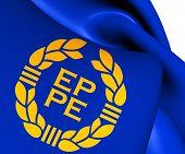 Flag Of European Parliament (1973-1983)
