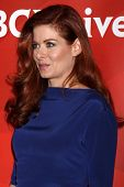 LOS ANGELES - JUL 13:  Debra Messing at the NBCUniversal July 2014 TCA at Beverly Hilton on July 13,