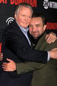 LOS ANGELES - JUL 9:  Jon Voight, Eddie Marsan at the