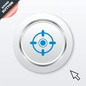 foto of crosshair  - Crosshair sign icon - JPG