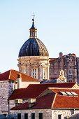 Old Dubrovnik City Roofs, Croatia, Dalmatia