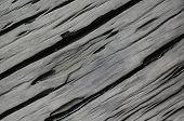 Wet Cracked Wood Background Texture
