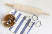Baking tools Cookie Cutters Measuring Spoon and rolling pin