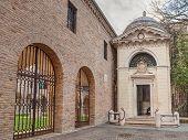 Dante Alighieri Tomb In Ravenna, Italy