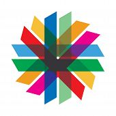 Communication Concept With Color Line