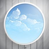 Abstract Round Shape With Frame
