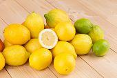 halved citrus fruits