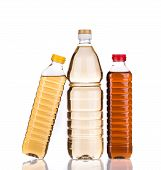 picture of vinegar  - bottles of vinegar - JPG