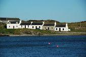 Houses In Port Ellen On Islay