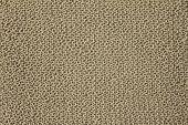 Jute Yarn Knitted beige Fabric