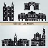Rennes Landmarks And Monuments
