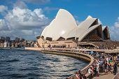 Sydney Opera House In Sydney, Australia.
