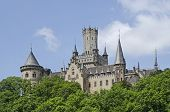 The Historic  Castle Marienburg In North  Germany