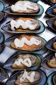 Mussels In Shells