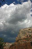 Zion National Park stormfront