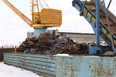 Playground For Processing Scrap Metal