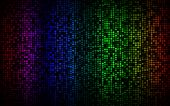 Colorful Dots Stage Background