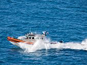 stock photo of coast guard  - US Coast Guard on duty - JPG